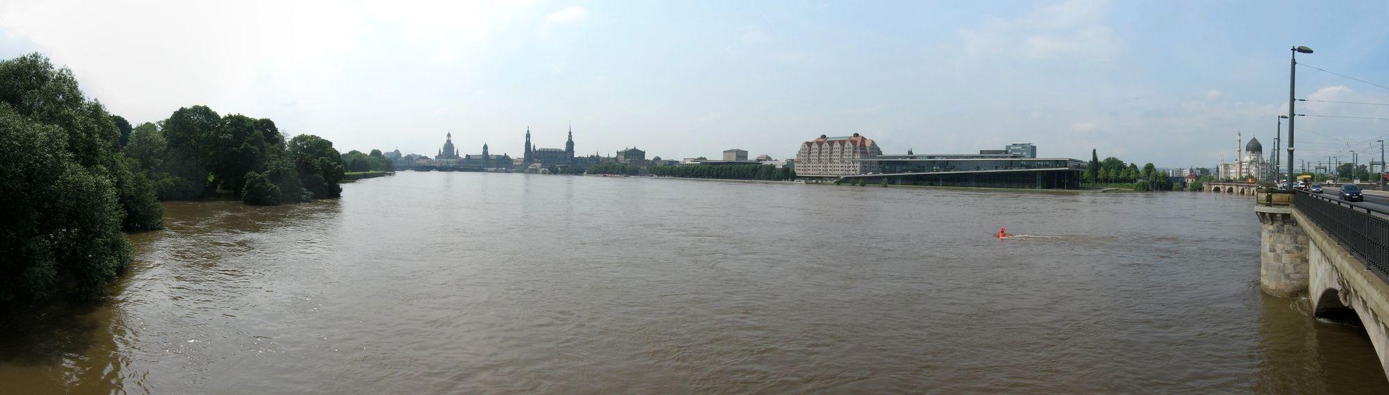 Elbehochwasser im Juni 2013