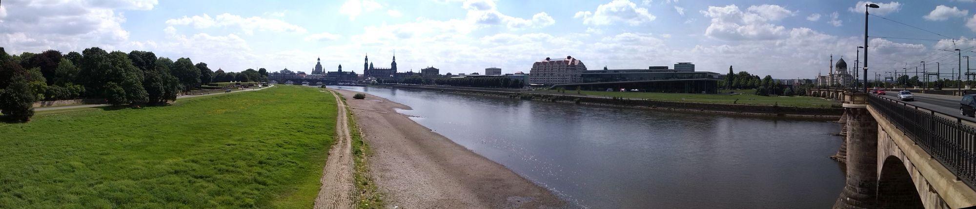 Elbe im August 2013